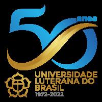 Segunda opção de selo para comemoração dos 50 anos da Ulbra