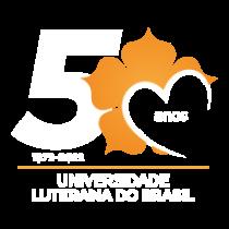 Terceira opção de selo para comemoração dos 50 anos da Ulbra