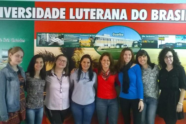 Equipe ULBRA de funcionários