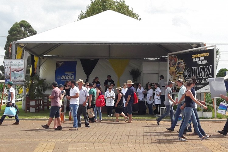 Ulbra Carazinho marcou presença na Expodireto