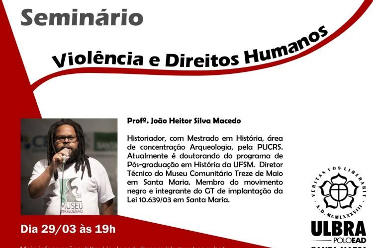 Seminário Violência e Direitos Humanos