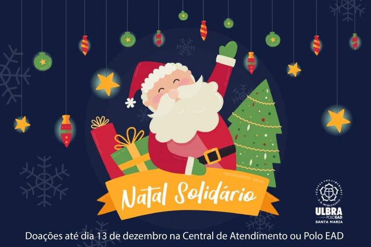 Ulbra Santa Maria recebe doações até dia 13 de dezembro