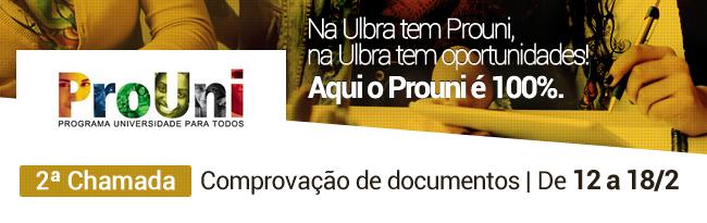 Prouni | Comprova��o documentos 2� chamada
