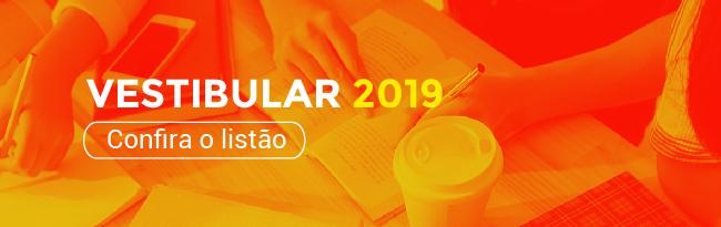 Vestibular 2019/1 Ji-Paraná - Listão