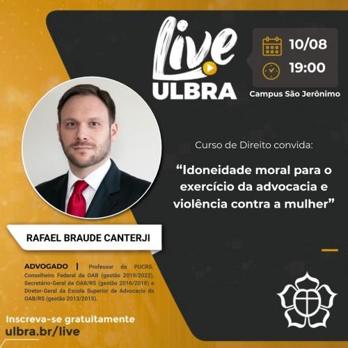 Rafael Braude Canterji, advogado e professor da PUCRS.