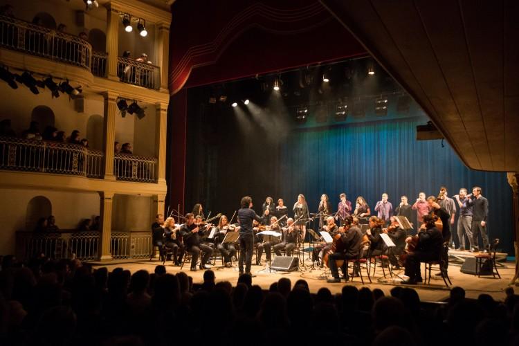 Orquestra da Ulbra no Theatro São Pedro