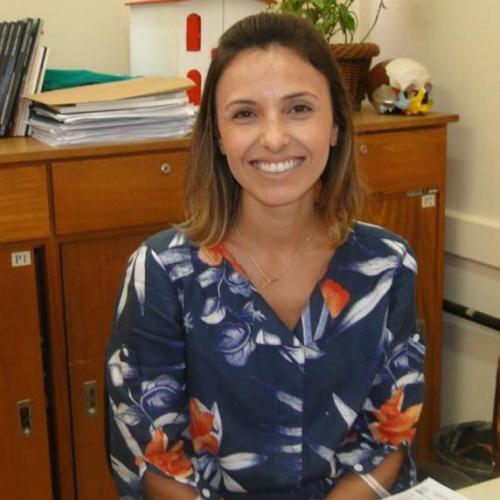 Profa. Rafaela Jarros Missel, Coordenadora do Curso de Psicologia - ULBRA/ Campus Guaíba.