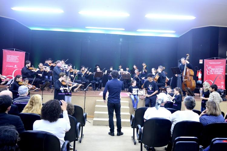 Orquestra de Câmara da Ulbra - Concerto Didático