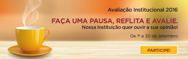Avalia��o Institucional 2016