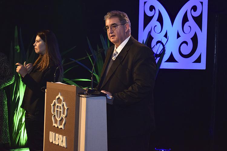Diretor vice-presidente da Aelbra S/A, Rogério Malgarin, destacou o movimento de apoio à universidade