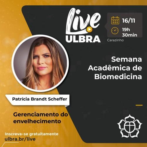 Semana Acadêmica Biomedicina - ULBRA - Carazinho