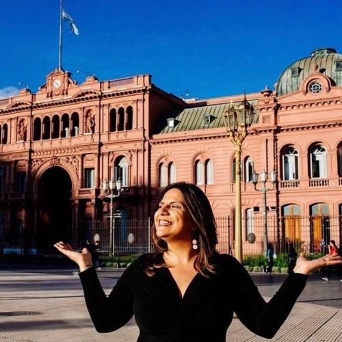 Brunna Brok: Diretora da agência de turismo receptivo Aguiar Buenos Aires.