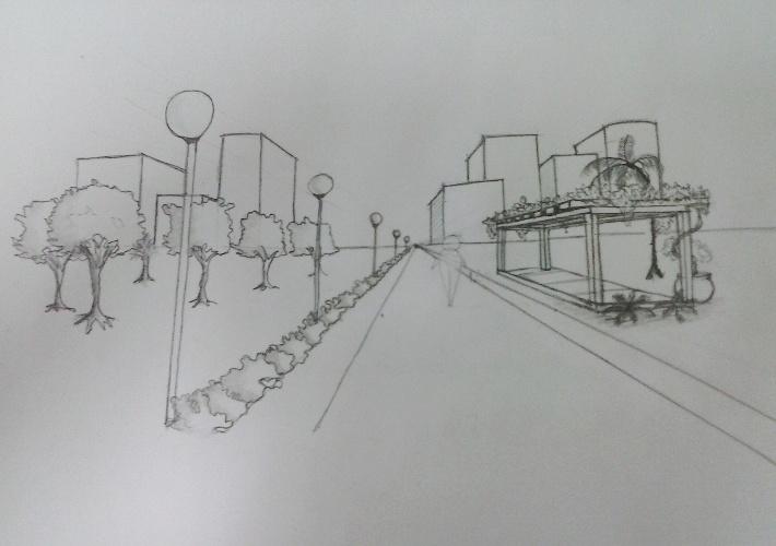 Amado Acadêmicos de Arquitetura e Urbanismo promovem curso de desenho à  KA51