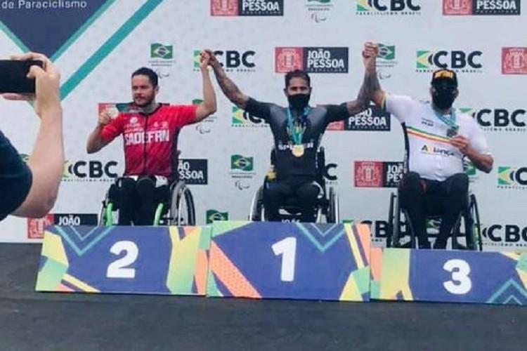 Rodrigo Schu: medalha de bronze na Copa Brasil de Paraciclismo