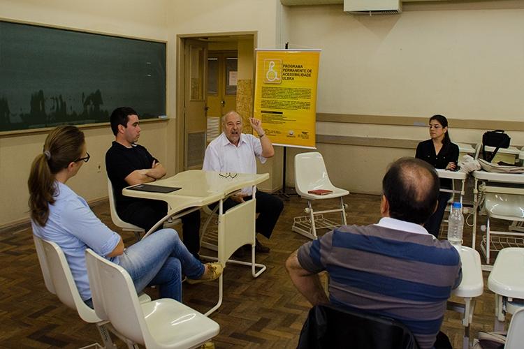 O Programa Permanente de Acessibilidade da Ulbra realiza capacitações para colaboradores