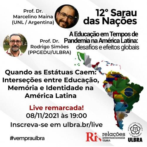 Quando as Estátuas Caem: Interseções entre Educação, Memória e Identidade na América Latina.