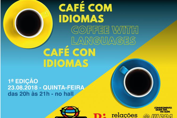 Café com Idiomas promove primeiro encontro no Campus