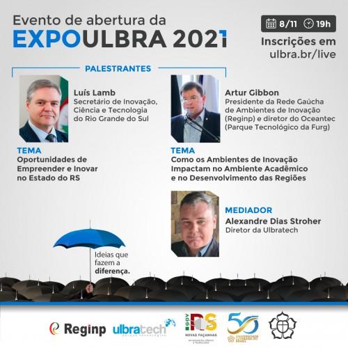 ABERTURA DA EXPOULBRA 2021