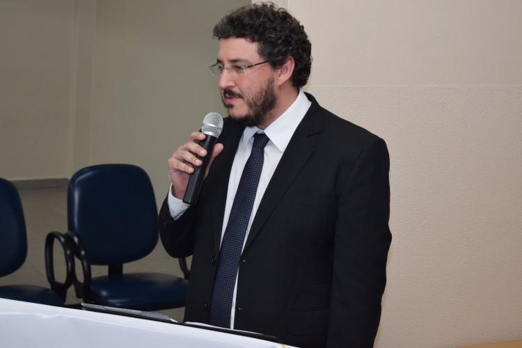 Diretor do campus Canoas, Leonardo Haerter dos Santos