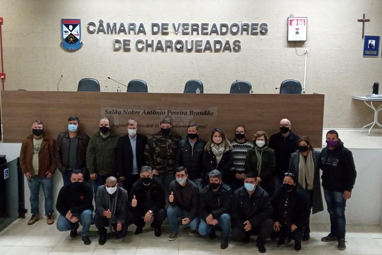 Ulbra e Legislativo de Charqueadas: aproximação com a comunidade.