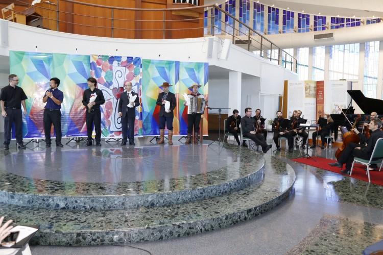 Evento foi marcado pela união das músicas gauchesca e clássica