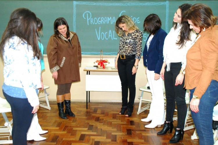 Oficina piloto contou com a participação de professoras do curso de Estética