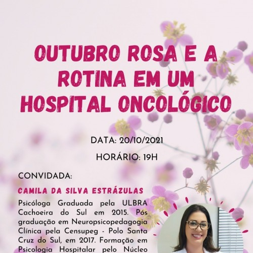 Psicóloga Camila da Silva Estrázulas