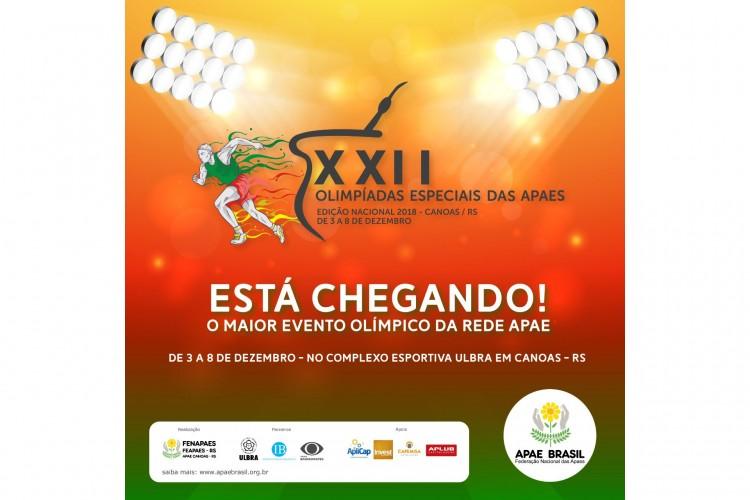 7eee827470 Complexo Esportivo recebe XXII Olimpíadas Especiais das APAEs ...