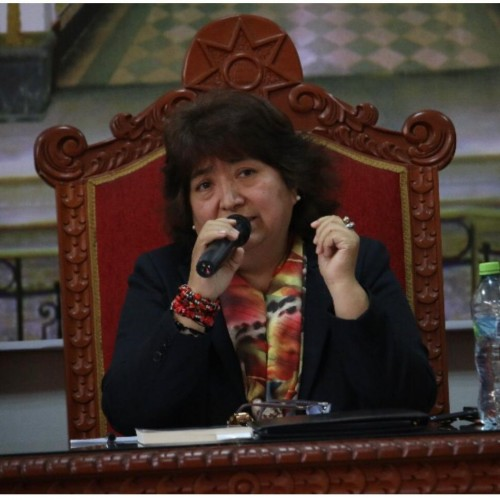 Krúpskaya Rosa Luz Ugarte Boluarte: Docente titular de la Cátedra de Derechos Humanos y Derecho Internacional Público de la Facultad de Derecho y Ciencias Políticas de la Universidad Nacional Mayor de San Marcos, Peru