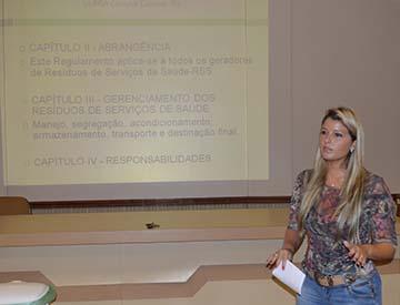 Quelin Marques Klippel apresentou benefícios do PGRSS