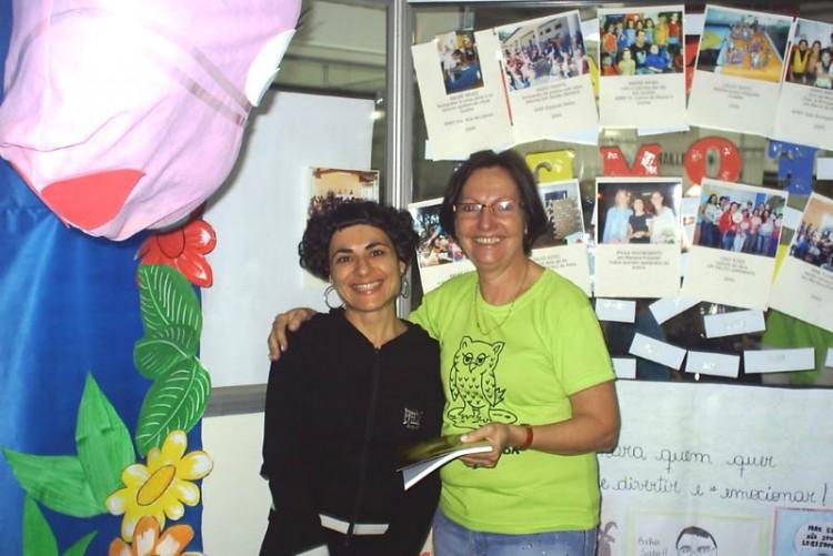Fome de Ler é uma alegria - Paula Mastroberti e Angela Rolla - Feira do Livro de Porto Alegre.