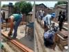 Trabalho de reconstrução da moradia começou em outubro de 2016