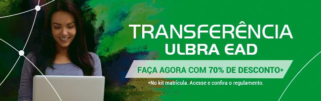 Transferência Ulbra EAD