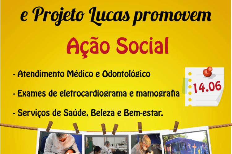 Ulbra Santa Maria e Projeto Lucas em Ação Social