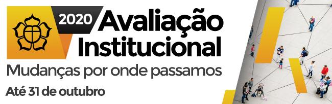 Avaliação institucional 2020