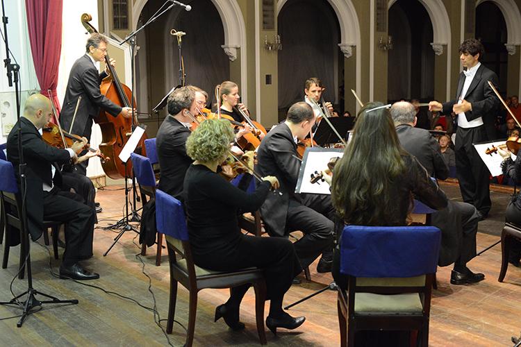 Tiago Flores está a frente da Orquestra há 20 anos