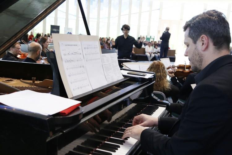 Orquestra de Câmara da Ulbra acompanhou músicos do Tchê Guri
